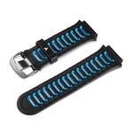 Ersatzarmband Schwarz/Blau