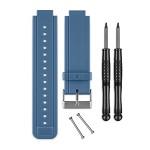 Silikon Arrmband für vivoactive Blau