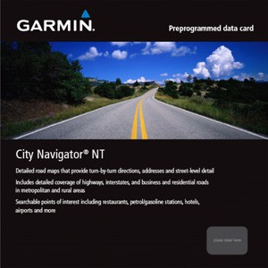 microSD/SD City Navigator NT Canada