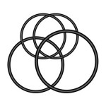 Elastiques pour support vélo support Varia (4 élastiques)