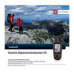 Garmin Alpenvereinskarte Allemagne