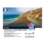 DVD Topo Frankreich V3 Nord-West + microSD / SD