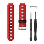Bracelet de montre rouge volcan/noir (Forerunner® 735XT)