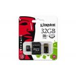 Carte mémoire MicroSDHC de 32Go