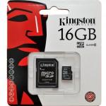 Carte mémoire MicroSDHC de 16GB