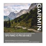 DVD Topo Frankreich V3 Süd-West + microSD / SD