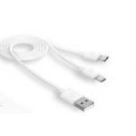 MicroUSB Kabel 2 Ausgänge (Digitsole)