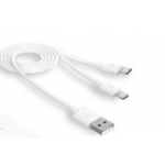 Câble microUSB double (Digitsole)