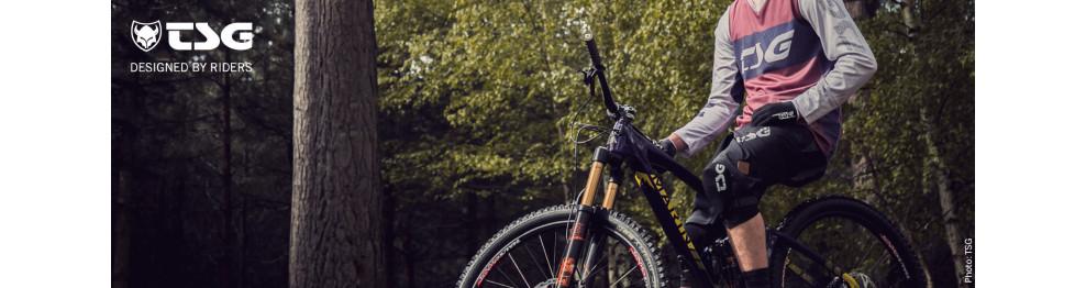 Protections et gants de vélo