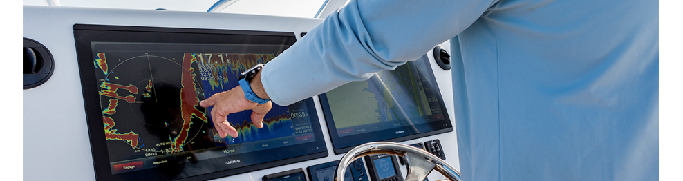 Combinés GPS-sondeur